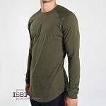 GYMSHARK, 101028, Футболка д/р Alpine Green