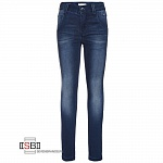 name it, 13142290, Джинсы Dark Blue Denim