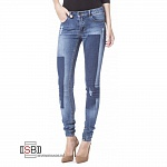 VILA, 14036016, Джинсы Medium Blue Denim