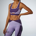 GYMSHARK, 200009, Топ спортивный Rich Purple/Soft Lilac/Black
