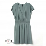 H&M, 182844, Платье Dusty Green