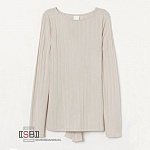 H&M, 176250, Лонгслив Beige Light