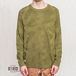 Wesc, 10900621 - Cammo knitter, Пуловер olive branch