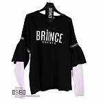 Briince Couture, 1039, Толстовка Nero/Bianco